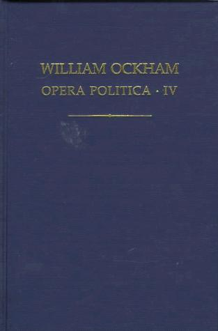 Download Guillelmi de Ockham Opera politica