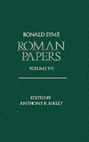 Download Roman Papers