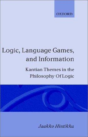 Logic, language-games and information