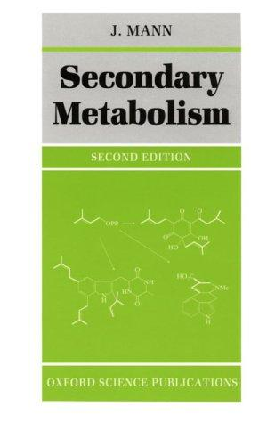 Download Secondary metabolism