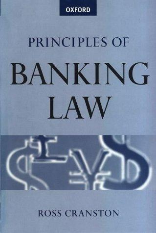 Download Principles of banking law