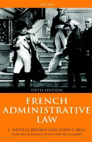 Download French administrative law