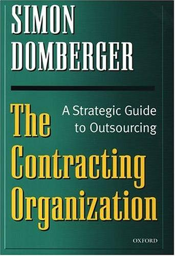 Download The contracting organization