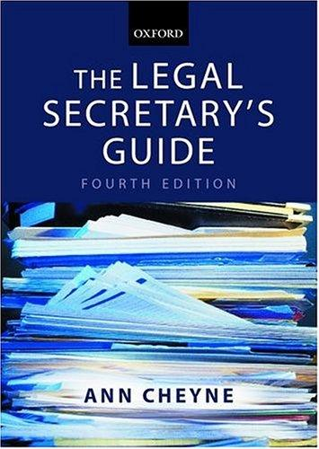 Download The legal secretary's guide