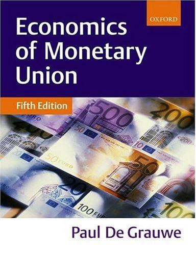 Download The economics of monetary union