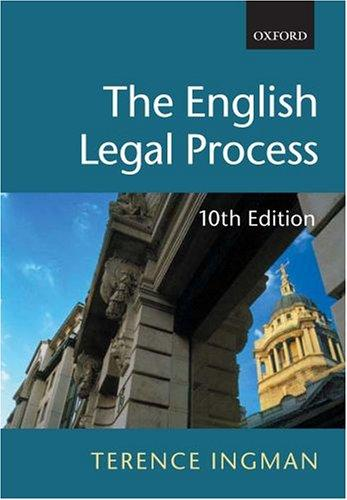 Download The English legal process