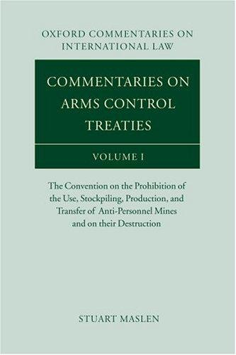 Commentaries on arms control treaties