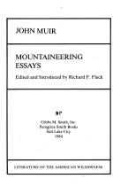 Mountaineering essays
