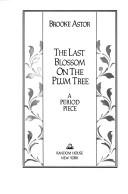 Download The last blossom on the plum tree