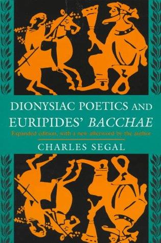 "Download Dionysiac Poetics and Euripides' ""Bacchae"""