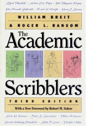 The academic scribblers