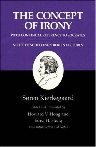 Download The concept of irony, with continual reference to Socrates
