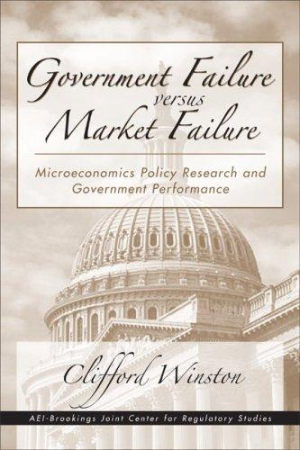 Government Failure versus Market Failure