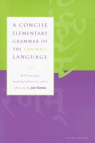 A concise elementary grammar of the Sanskrit language