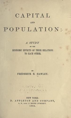 Download Capital and population