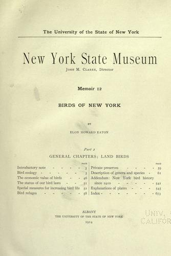Download Birds of New York
