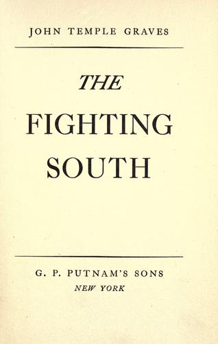 Download The fighting South.