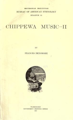 Download Chippewa music.