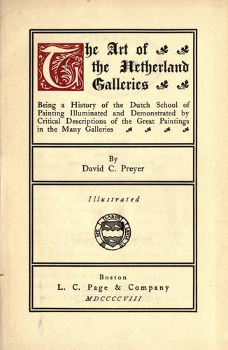 Download The art of the Netherland galleries