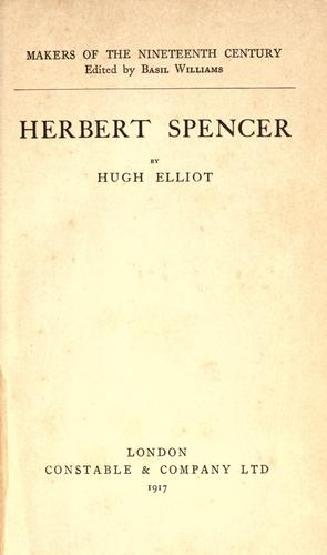 Download Herbert Spencer.