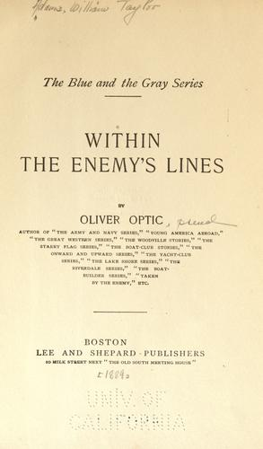 Download Within the enemy's lines