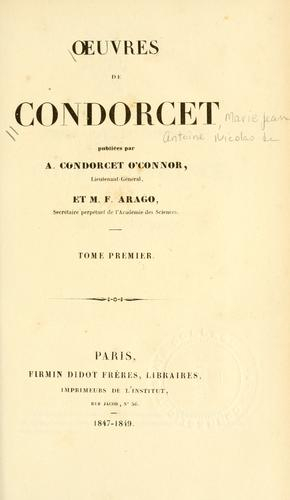 Download Oeuvres de Condorcet