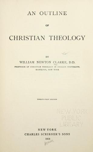 An outline of Christian theology