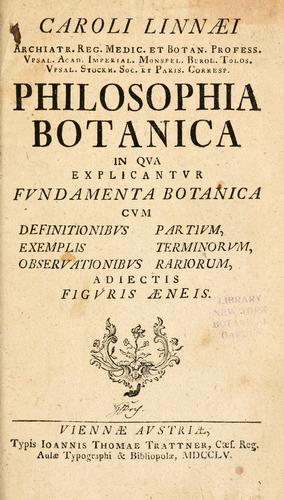 Download Philosophia botanica