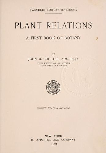 Download Plant relations