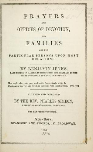 Download Prayers and offices of devotion