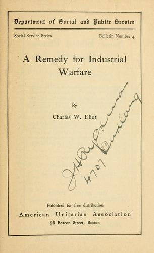 Download A remedy for industrial warfare.