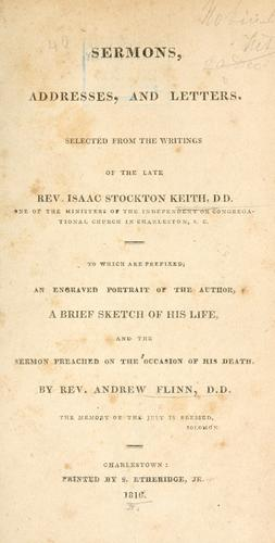 Download Sermons, addresses, and letters