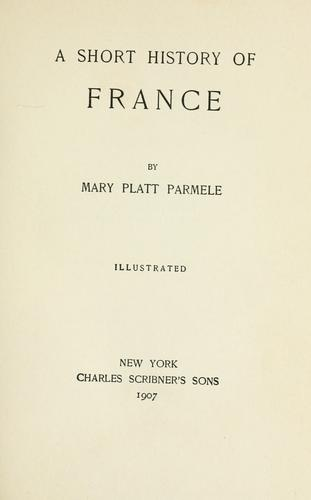 A short history of France.