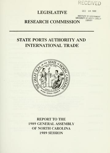 Download State Ports Authority and international trade