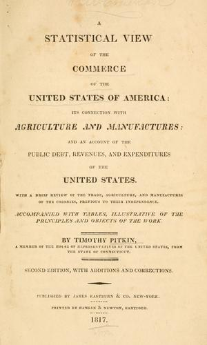 Download A statistical view of the commerce of the United States of America