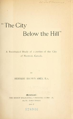 """The city below the hill"""