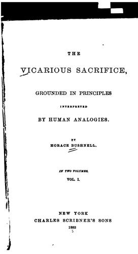 Download The vicarious sacrifice