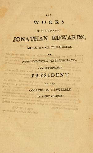 Download The works of President Edwards …