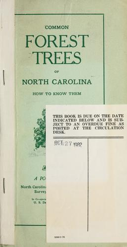 Download Common forest trees of North Carolina