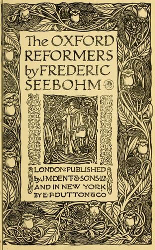 Download The Oxford reformers