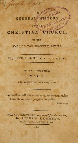 A general history of the Christian church …