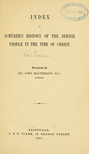 Download A history of the Jewish people in the time of Jesus Christ …
