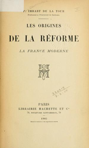 Download Les origines de la réforme …