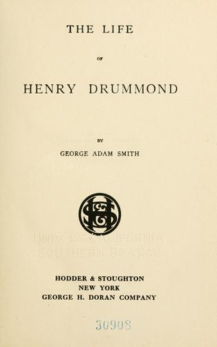 Download The life of Henry Drummond