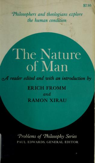 The nature of man by Erich Fromm