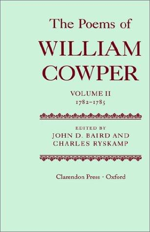 The Poems of William Cowper: Volume II by William Cowper