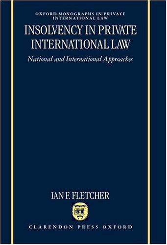 Insolvency in private international law
