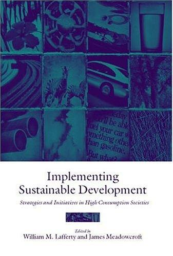 Implementing sustainable development by