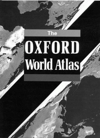 Oxford World Atlas by OUP Cartographic Unit