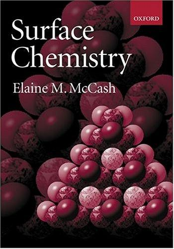 Surface chemistry by Elaine M. McCash